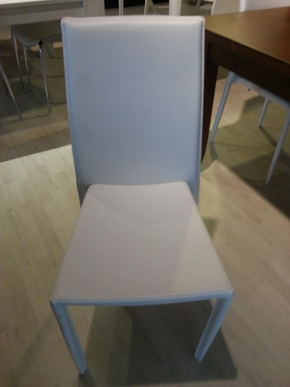 sedie in pelle outlet - Sedie a prezzi scontati