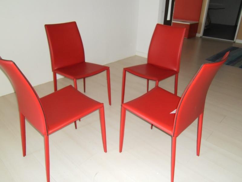 Sedia bontempi casa linda cuoio sedie a prezzi scontati for Sedie cuoio prezzi