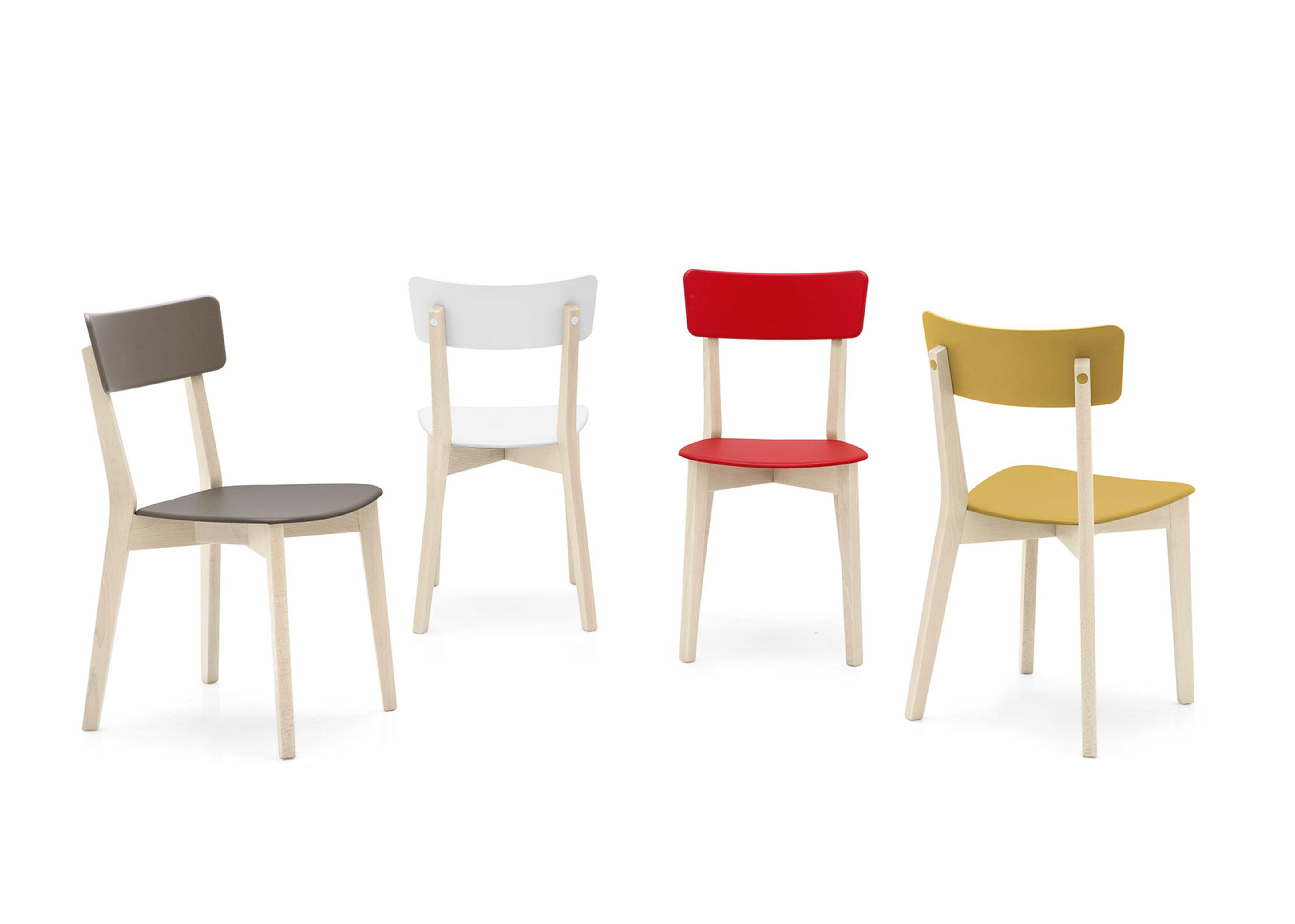 Sedia per cucina modello holly scontata del 30 sedie a - Sedie di legno per cucina ...