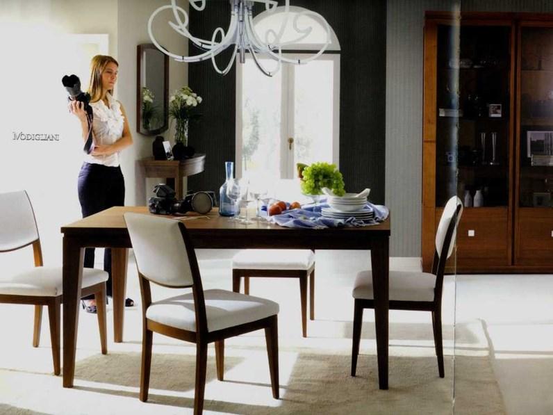 4 sedie piombini mod modigliani legno scontate del 50 for Vergani arredamenti