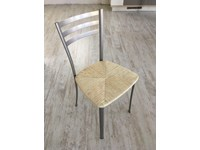 Sedie scavolini mod speedy metallo verniciato seduta in paglia