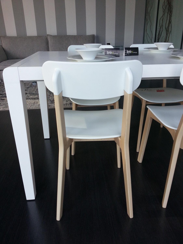 Set 4 sedie cream calligaris sedie a prezzi scontati - Sedie da cucina prezzi ...