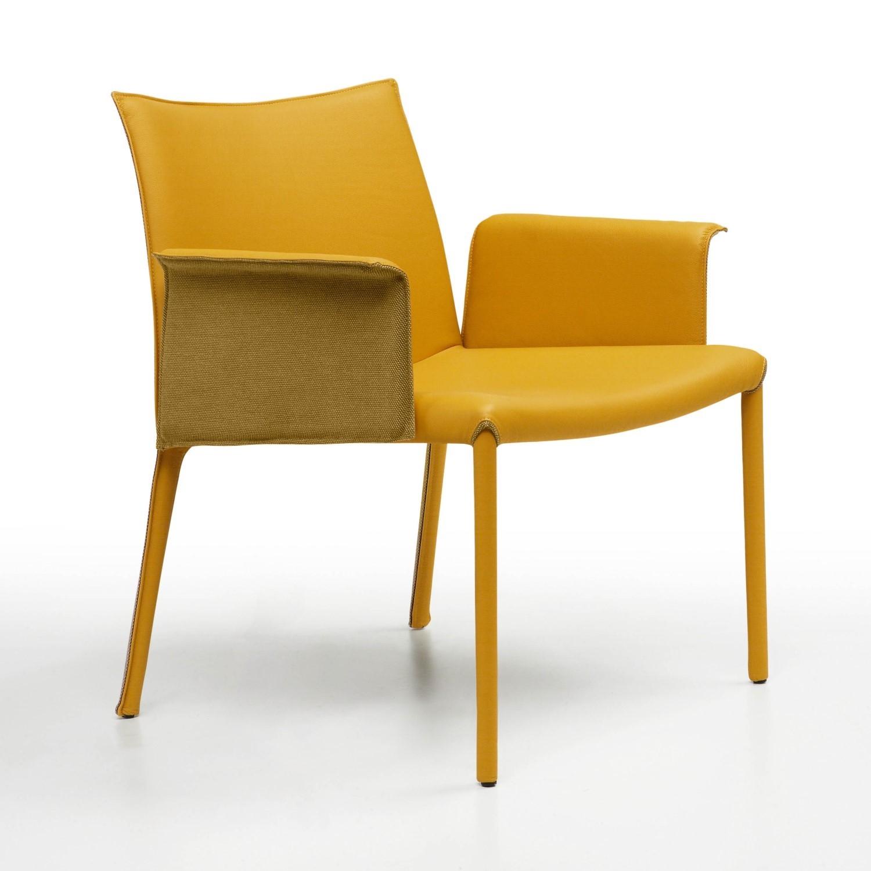 Set di 4 sedie con seduta in cuoio by midj nuove a prezzo for Sedie cuoio prezzi