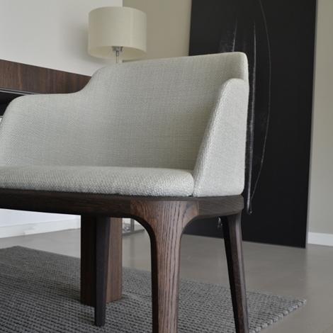 Set di 4 sedie modello grace di poliform scontate del 50 for Poliform sedie
