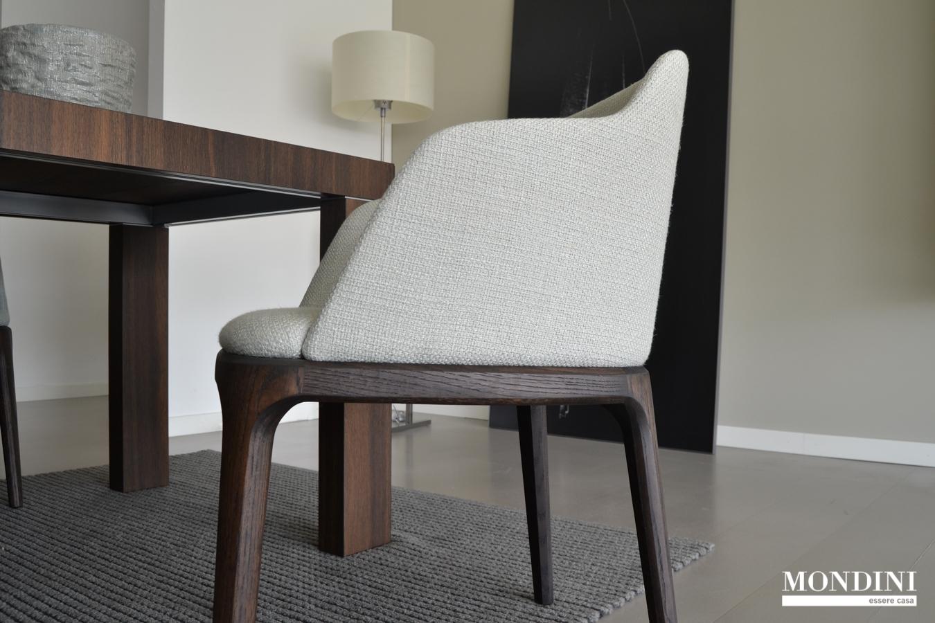Set di 4 sedie modello grace di poliform scontate del 50 for Sedie scontate