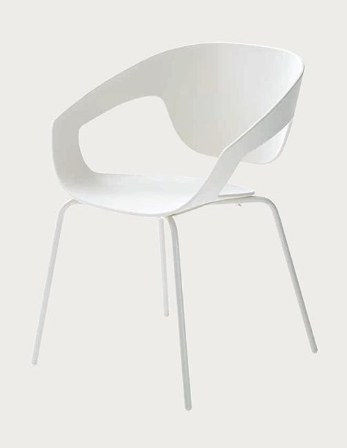 Set di 4 sedie modello vad con struttura in metallo for Design scontato