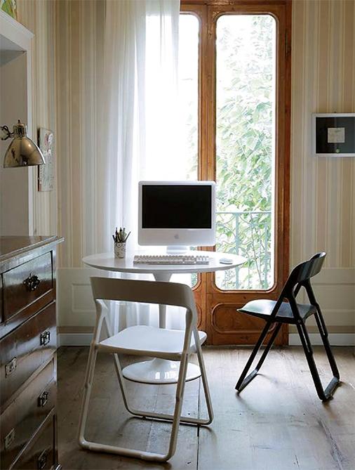 Set di 4 sedie pieghevoli bek articolo di alto design for Sedie nuovo design
