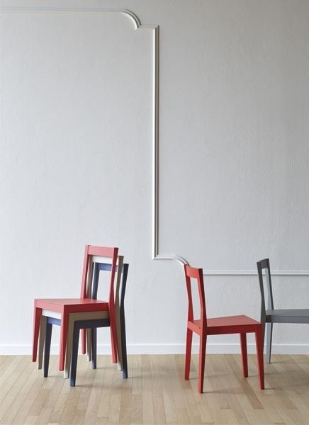 Set di 6 sedie emilia by miniformos design nuova a prezzo for Set 6 sedie moderne