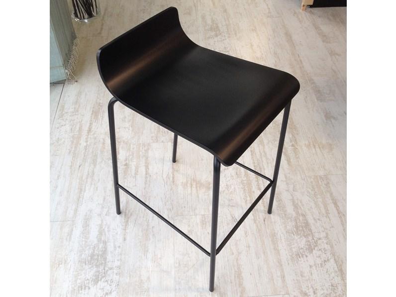 Sgabelli scavolini mod endless colore nero