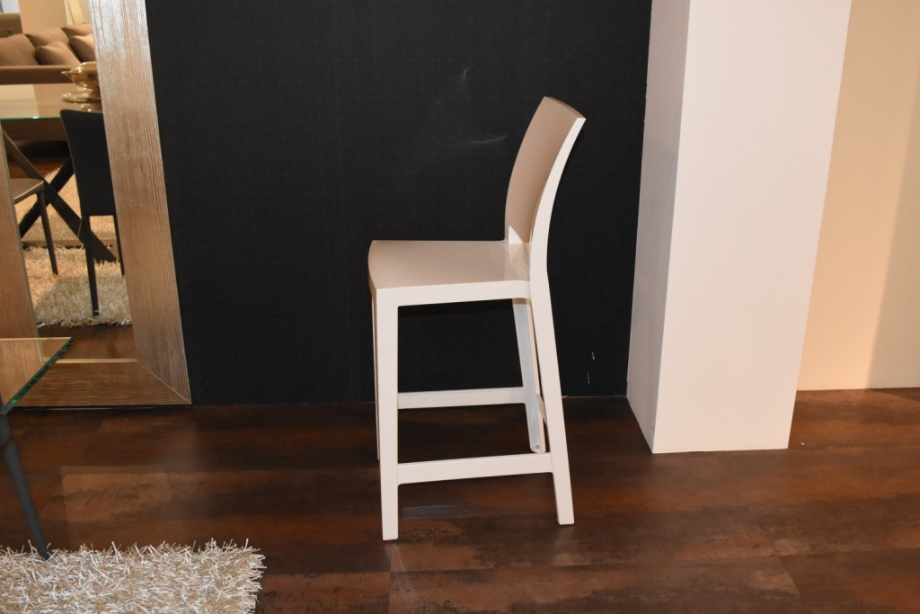 Sgabello ghost kartell one more di kartell sgabelli bar with