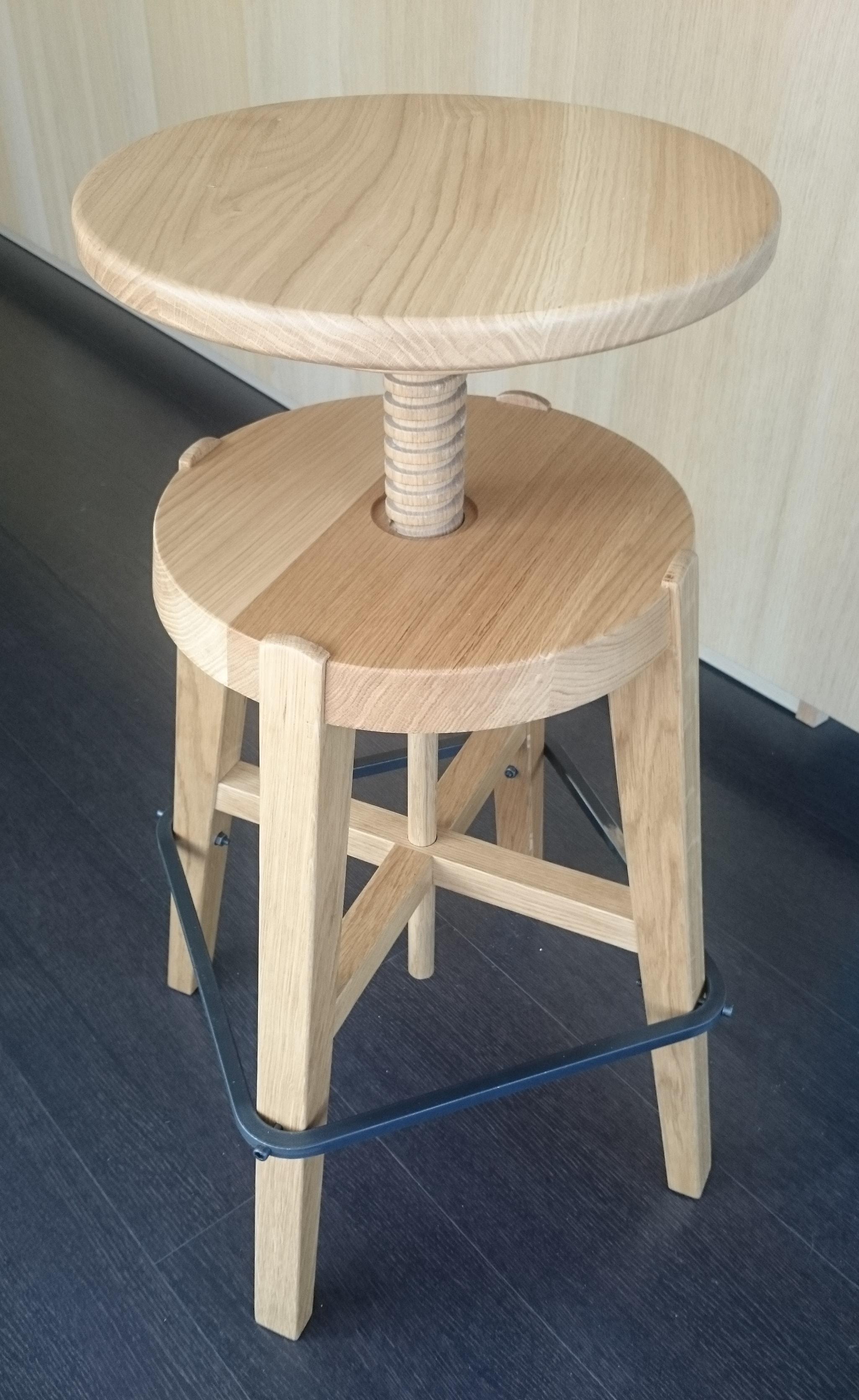 Sgabello mov in legno rovere sedie a prezzi scontati - Sgabello legno bagno ...