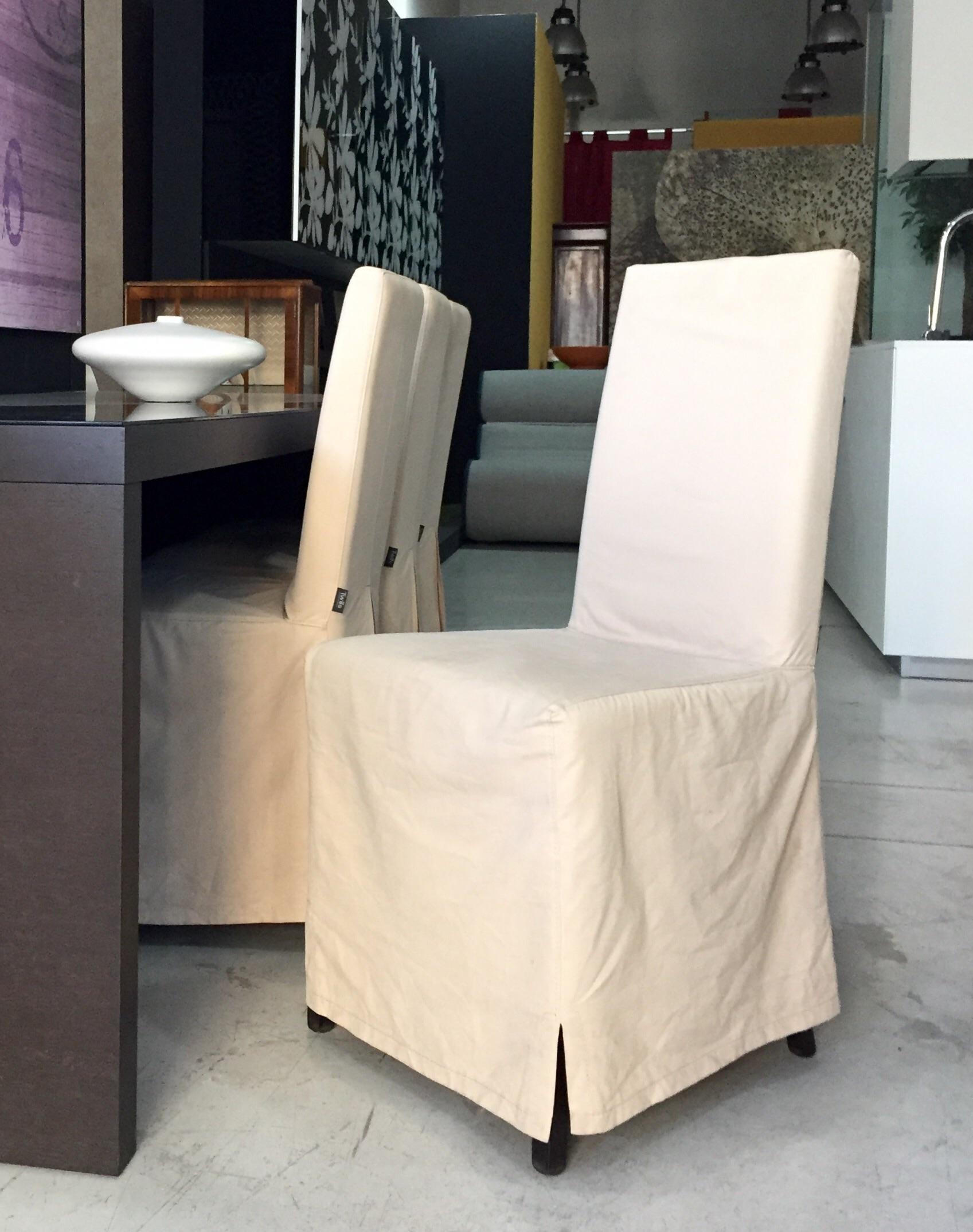 Twils 4 sedie sally con gonna lunga in tessuto sedie a for 4 sedie in offerta