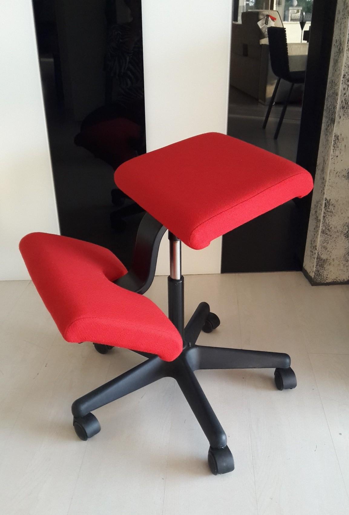 Sedie ergonomiche varier varier date colori standard with for Sedia ufficio varier