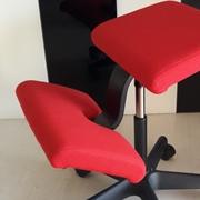 Sedia ergonomica Wing balans rossa scontata 25%