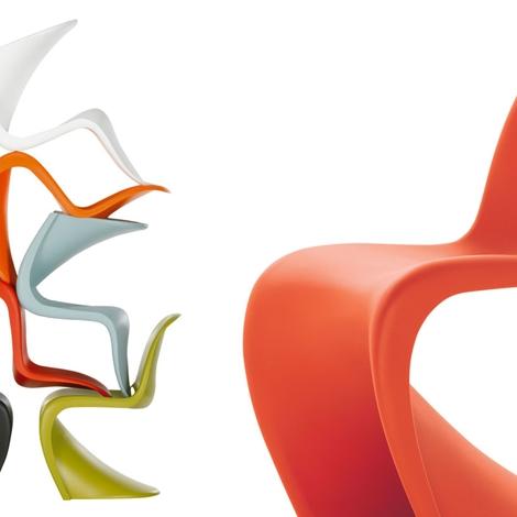 vitra sedia panton chair design sedie a prezzi scontati. Black Bedroom Furniture Sets. Home Design Ideas