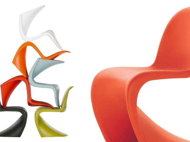 Panton chair vitra prezzo vitra sedia panton chair design for Sedia design panton