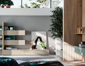 Composizione per il soggiorno modello Orme light composizione 08 di Orme a prezzo Outlet