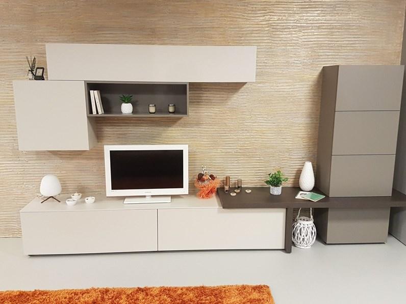 Outlet Soggiorni Moderni Milano.Soggiorno Completo Integra Di Santalucia In Stile Moderno A Prezzi Outlet