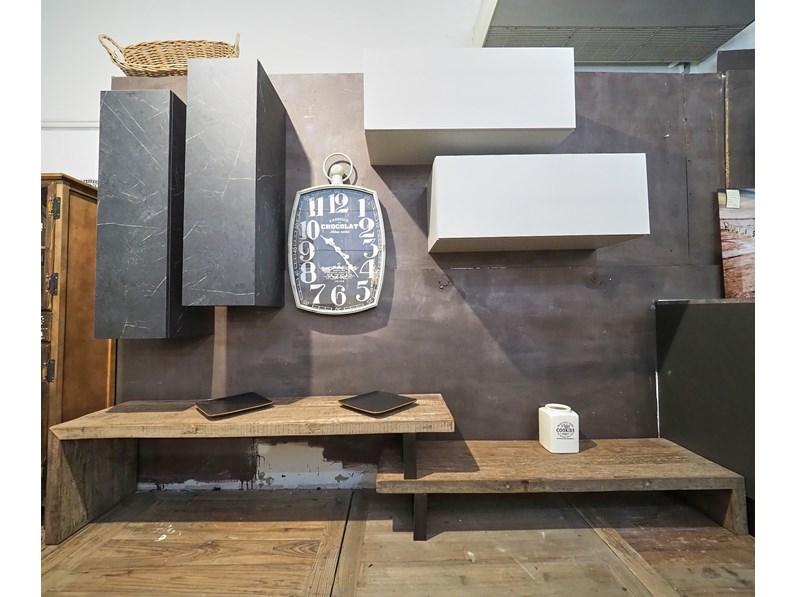 Soggiorno completo modello Mobile parete soggiorno ...