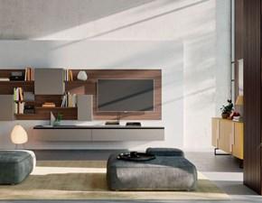Soggiorno completo modello Orme light composizione 02 in stile design di Orme a PREZZI OUTLET