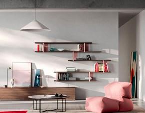 Soggiorno completo modello Orme light composizione 03 in stile design di Orme a PREZZI OUTLET