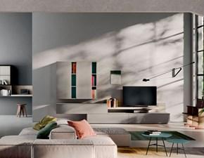 Soggiorno completo modello Orme light day composizione 11 in stile design di Orme a PREZZI OUTLET