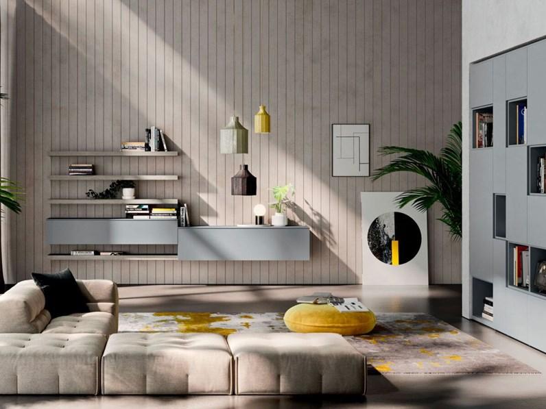 Soggiorno Completo Modello Orme Light Day Composizione 14 Di Orme In Offerta Outlet