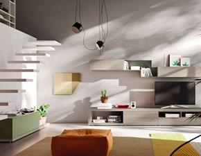 Soggiorno completo Orme light composizione 10 di Orme in stile design a prezzi outlet