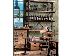 Libreria industrial  legno e ferro  e con uno sconto del 40%