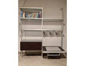 Libreria Longhi Vertical Mht7 Longhi in metallo, porta tv