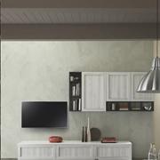 parete soggiorno vintage shabby chic tranche ' white in offerta  outlet nuovimondi convenienza