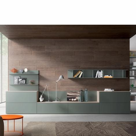 Soggiorno mobili soggiorno moderno laminato opaco porta tv for Immagini soggiorno moderno