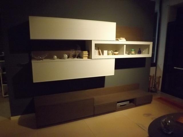 Accademia del mobile soggiorno ecosfera legno pareti attrezzate ...