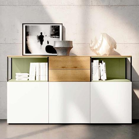 Armadietto da soggiorno con cassetti nuovo a prezzo for Armadietto da ufficio