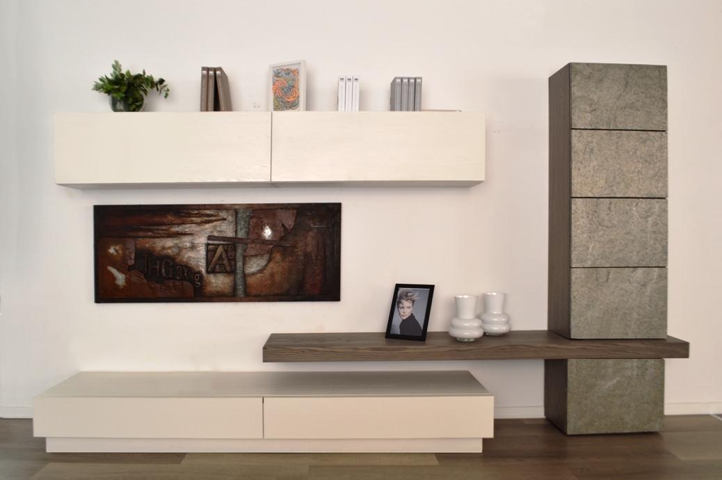 Arredamenti chianese parete attrezzata mobilgam horizon for Arredamenti scontati