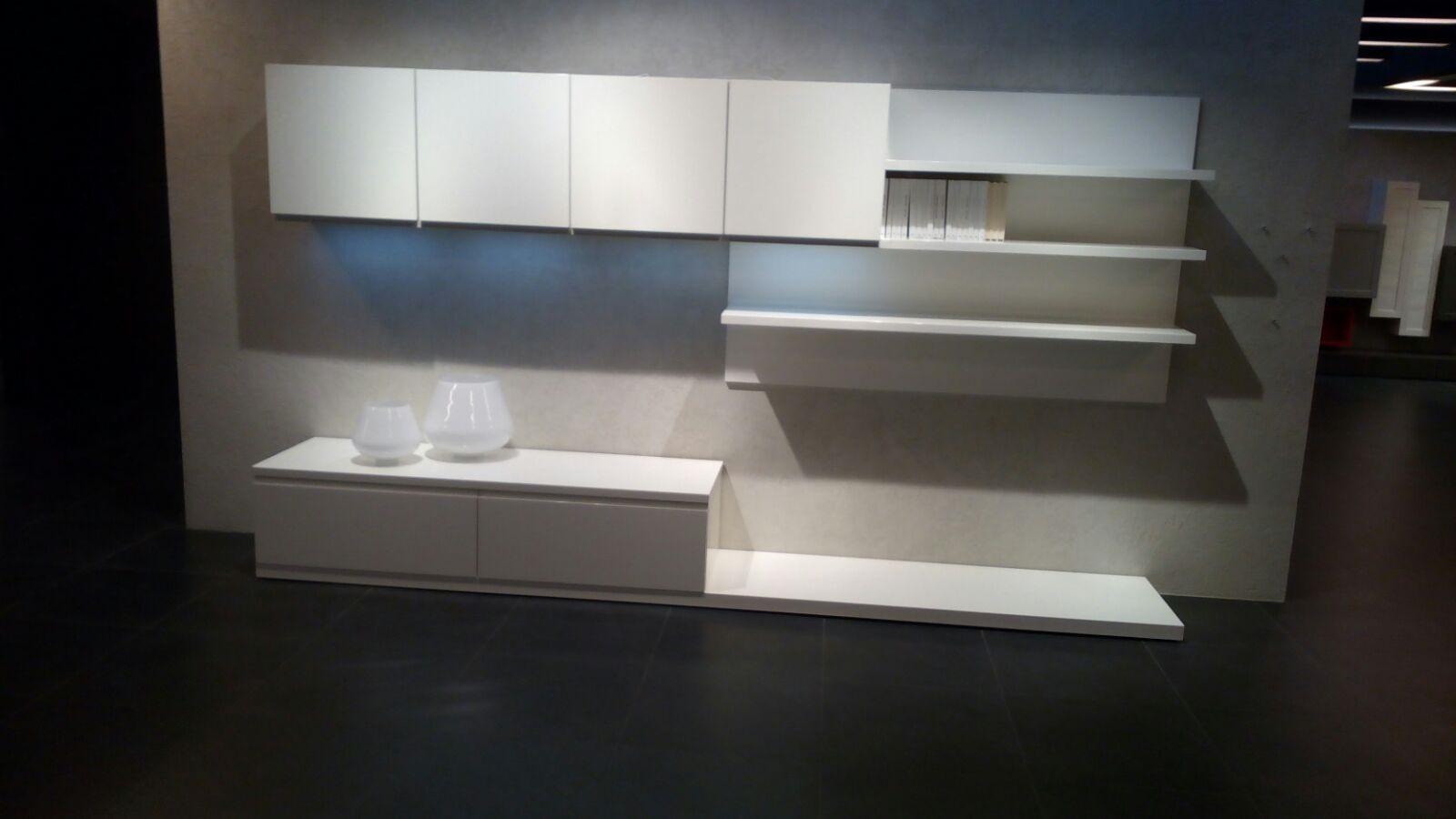 Arredo3 soggiorno wega legno pareti attrezzate design soggiorni a prezzi scontati - Pareti attrezzate design ...