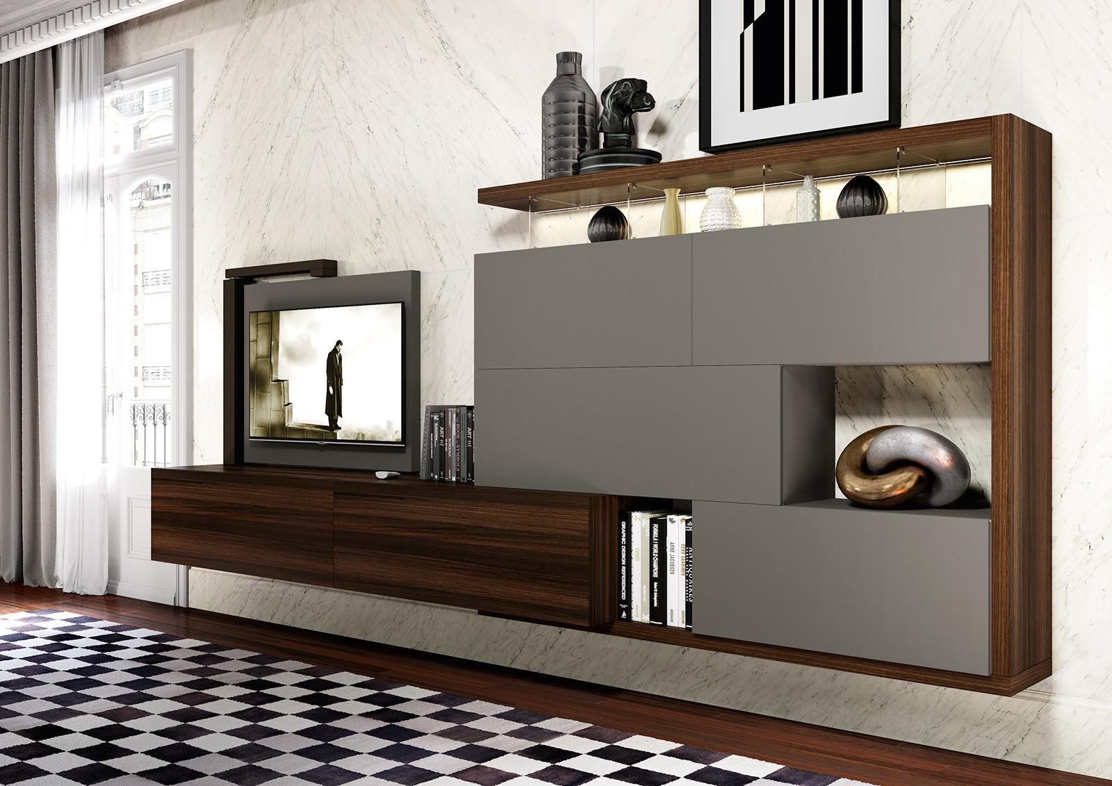 Composizione parete soggiorno sospesa scontato del 25 for Mobili casa