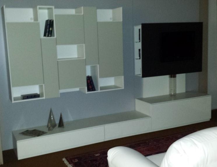 astor mobili soggiorno skyline + laccato opaco/lucido - soggiorni ... - Mobile Soggiorno Bianco Lucido