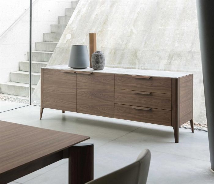 Soggiorno madia design legno madie design soggiorni a for Madie design outlet