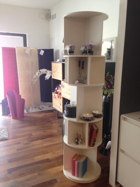 Libreria bianca di bonaldo occasione soggiorni a prezzi for Design d occasione
