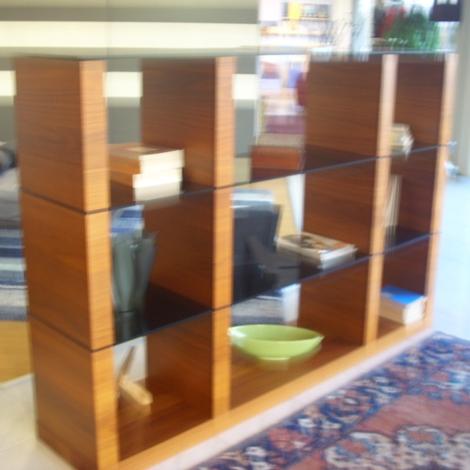 Calligaris soggiorno libreria lib scontato del 45 for Librerie componibili calligaris