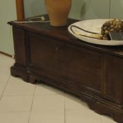 Cassapanca classica in legno scontata del -70%