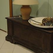 Cassapanca classica in legno