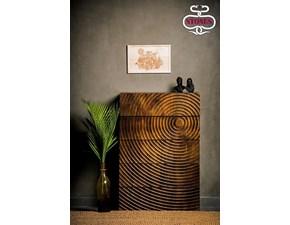Cassettiera in legno modello Kamala by Stones