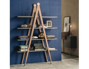 Libreria di design in legno massello Giotto di Cattelan
