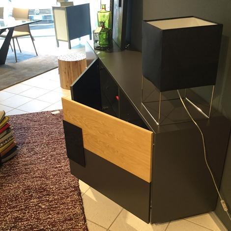 Cattelan soggiorno credenza italia torino legno madie for Madie design outlet