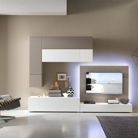 composizione 104 scontatissima soggiorni a prezzi scontati. Black Bedroom Furniture Sets. Home Design Ideas