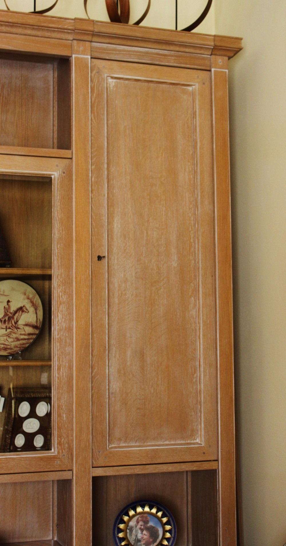 Composizione boiserie a parete componibile in legno di rovere - Grande Arredo in offerta al 50% ...