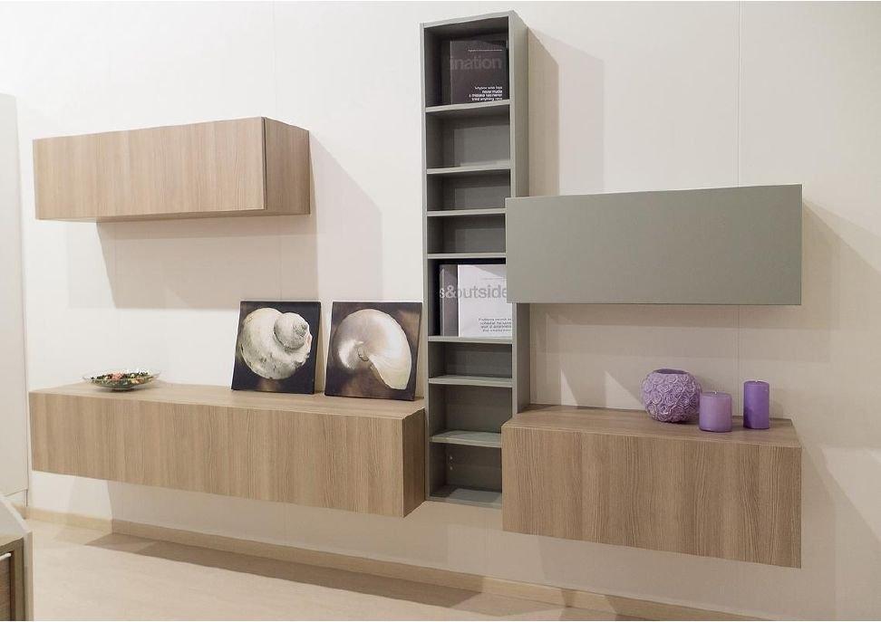 Composizione soggiorno cm 300 soggiorni a prezzi scontati for Composizione soggiorno
