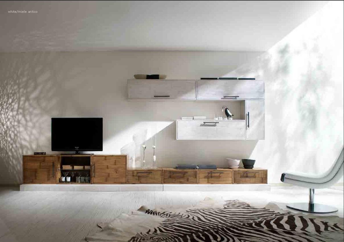 Soggiorni Stile Moderno : Composizione soggiorno crash bambu soggiorni a prezzi